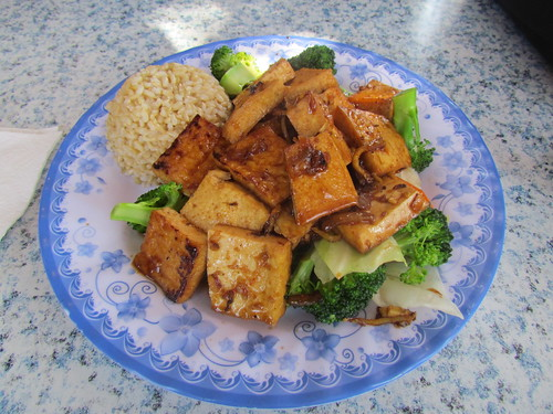 Ginger Tofu from Emmy's Vege House