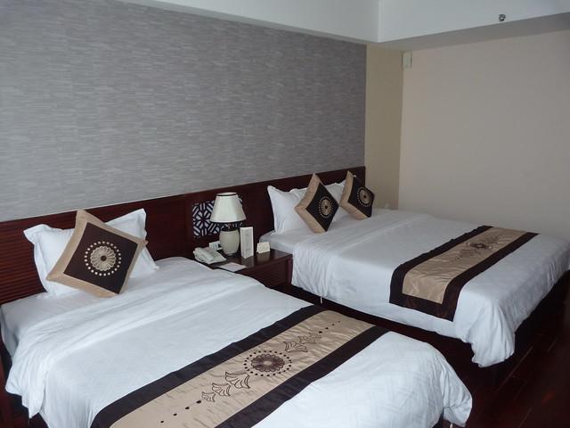 Habitación del hotel de Hué en el que estuvimos (Vietnam)