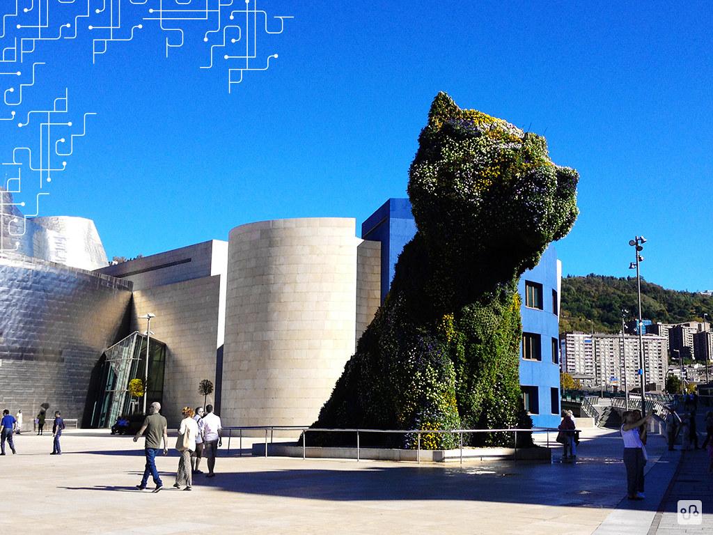 'Puppy', de Jeff Koons (Sem flores por causa do inverno) | Bilbao