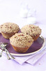 Pecan Big-Muffins with Streusel Topping