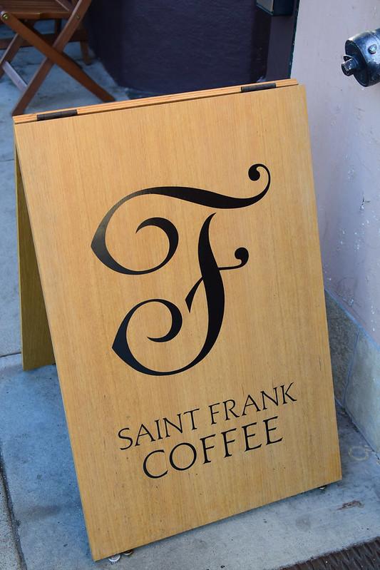 D Pinterestで発見したPolkストリートのお洒落カフェ Saint Frank Coffee