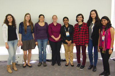 OPW Kernel Interns & Coordinator at LinuxCon Europe 2014