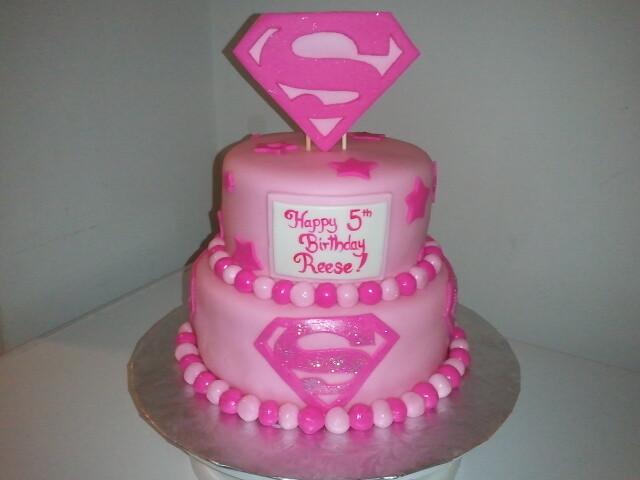 Super Girl Cake