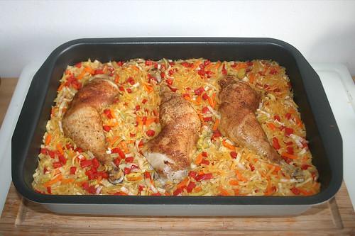41 - Auflaufform aus Ofen entnehmen / Take casserole from oven