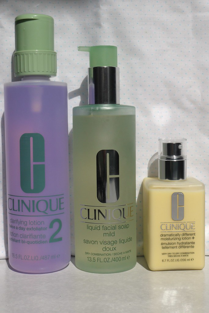Clinique 3 Steps Skincare