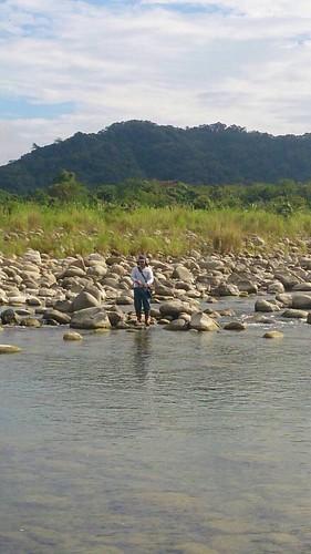 新竹縣政府首次以舉辦釣魚比賽,鼓勵民眾移除何氏棘魞。(圖片來源:新竹縣政府)