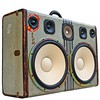 """Kobe Deluxe"" - Fresh BoomCase in our online store featuring two 12"" Woofers - #BoomCase #Kobe #Vintage #GreatGatsby"