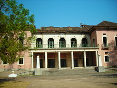 Old governor's palace - now destroyed