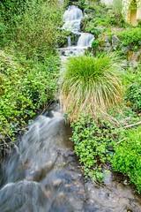 Kleiner Wasserfall der Hänner Wuhr