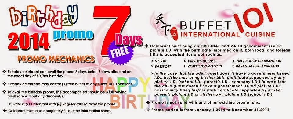 buffet-101-birthday-promo