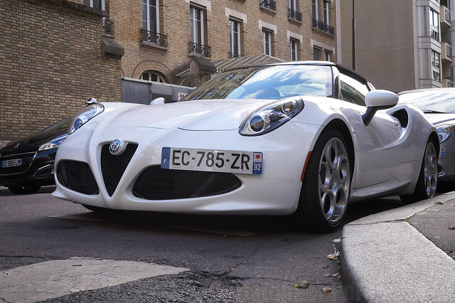 Alfa Romeo 4C Spyder ~ Paris, France