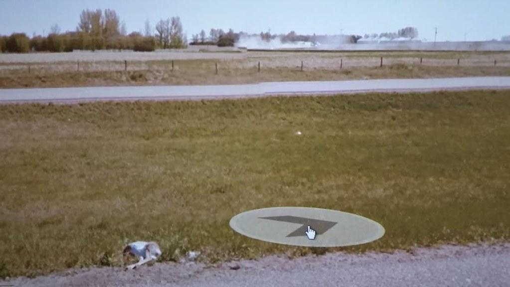 Roadkill and dust. #ridingthroughwalls #xcanadabikeride #googlestreetview #Saskatchewan