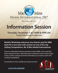 Workshop - MMI 2017 Info Session