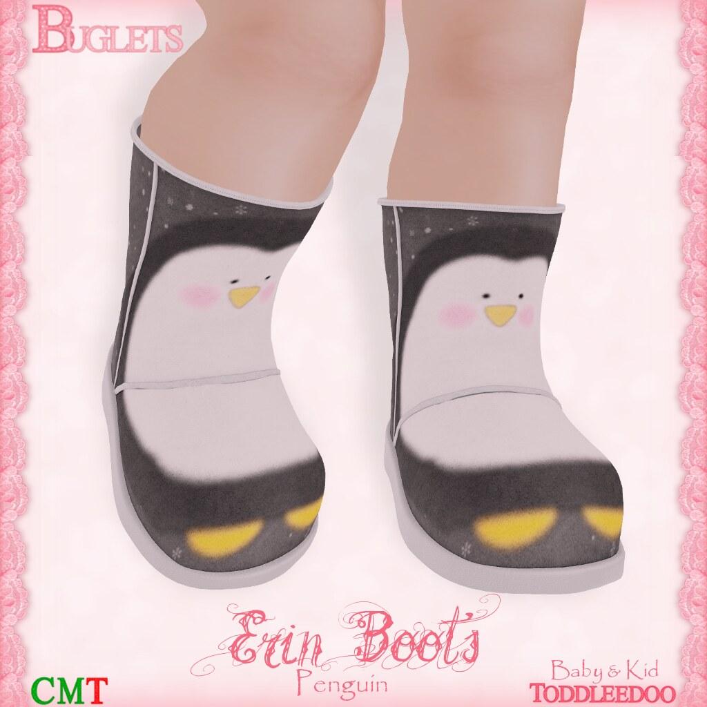 TD Erin Penguin Boots AD - SecondLifeHub.com