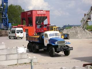 Old GMC dump truck 2-5-08