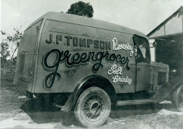 J.F. Tompson, Greengrocer of Revesby, 1940