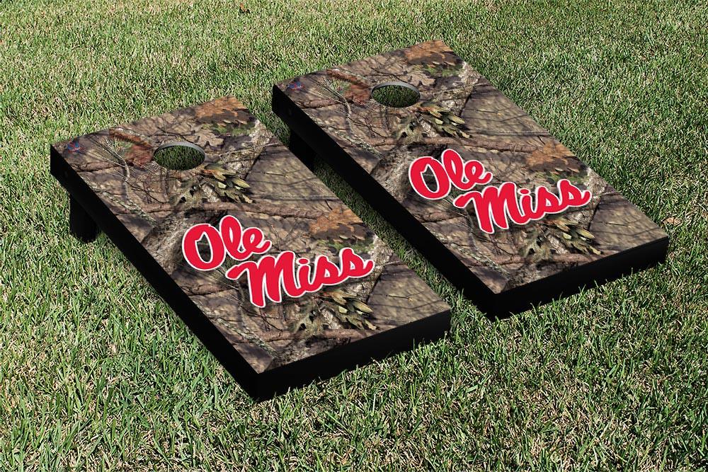 Ole Miss Rebels Mossy Oak Version
