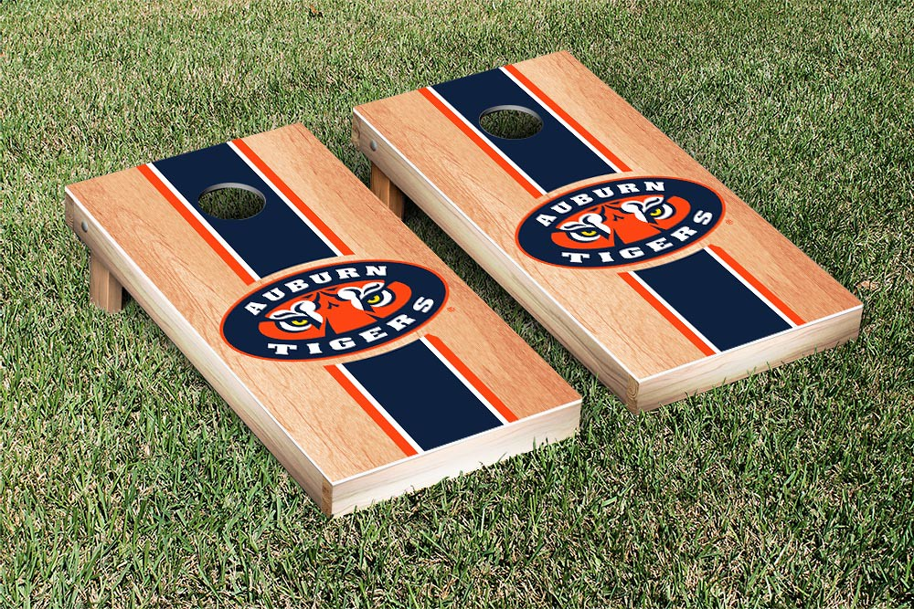 Auburn Tigers Stripe Hardcourt Board