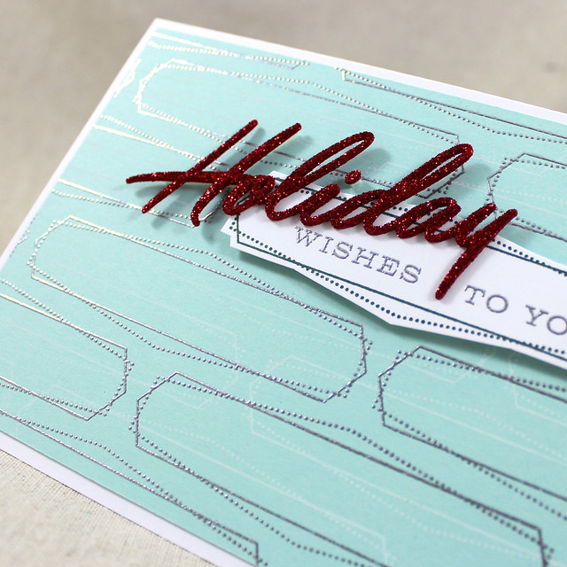 Holiday Wishes Close Up
