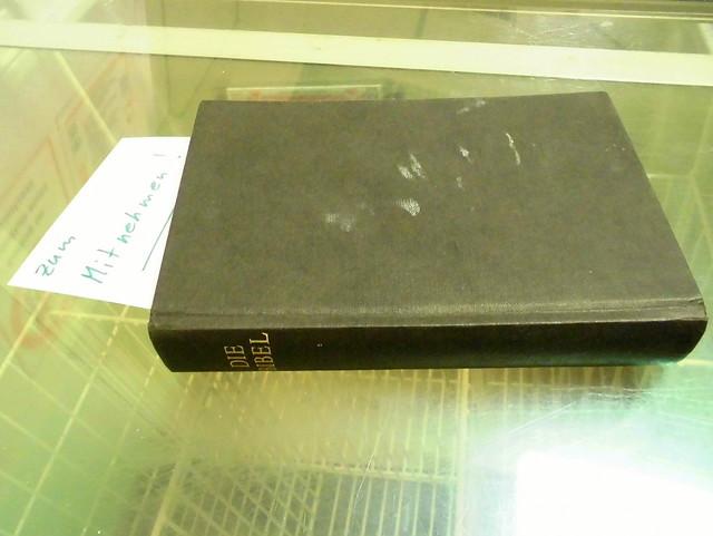 Bibel zum Mitnehmen