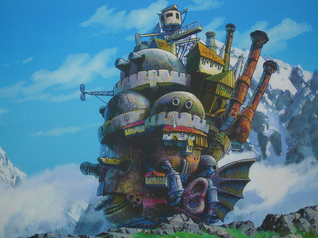 Exhibition of the Ghibli Studios in Busan