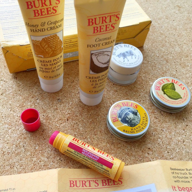 Burt's Bees Tips and Toes Kit: The natural solution for dry and cracked skin