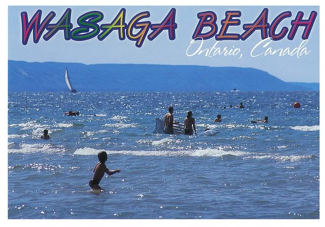 Ontario - Wasaga Beach - with Blue Mountains