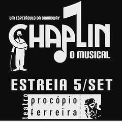 Reestreia sábado em Sampa ! #BlogAuroradeCinemaindica #BlogAuroradeCinemaregistra #VamosaoTeatro #vivaoteatro #Musical #Chaplin #Teatro #raia30omusical #ribalta #emcena #Palco #Teatrofazbem #jarbashomemdemello #chaplinomusical @claudiarreal