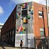 Above in Shoreditch @abovestudio #above #streetart #graffiti #murals #shoreditch #london #londongraffiti #ldngraffiti