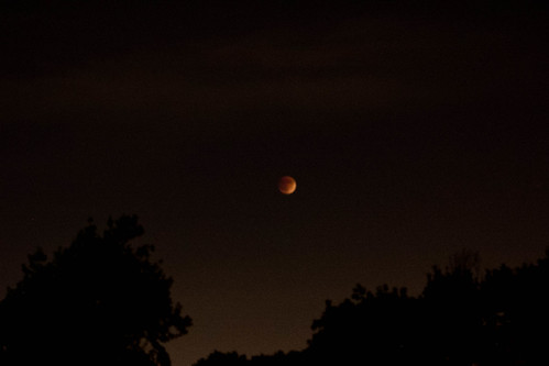 Red Lunar Eclipse