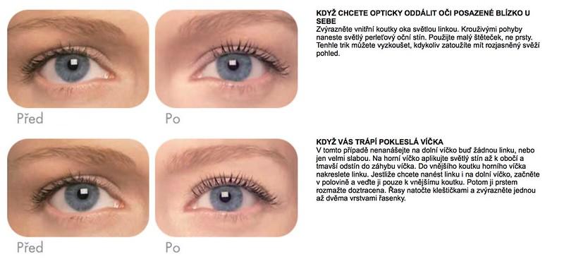 """Avon """"Tipy pro líčení očí"""""""