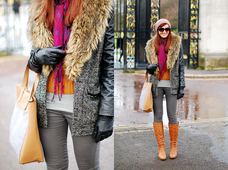 Winter sightseeing outfit