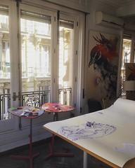 Starting new pieces #whitecanvas #newartwork #illustration #gabrielmoreno #tattoo
