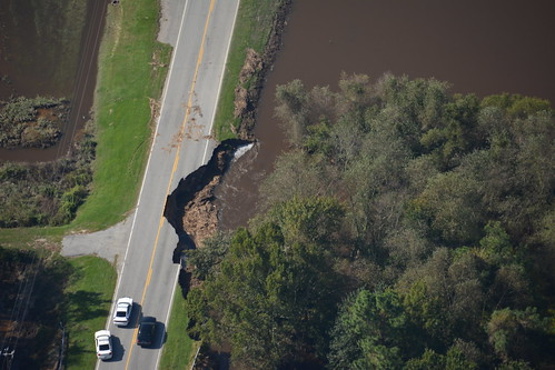 Highway 301 Flooding Aerial 2
