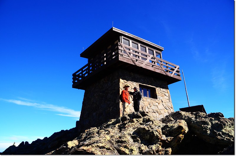 Squaw Mountain Fire Lookout Tower 2