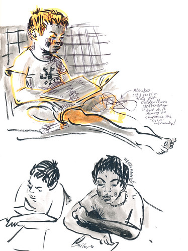 Sketchbook #92: Reading Time