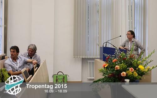 Christine Kreye presenting at Tropentag