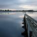 Shoreline Lake at Dawn by cbyeh