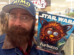 Star Wars Furbacca Furby Chewbacca, Target, 10/2015, pic by Mike Mozart of TheToyChannel and JeepersMedia on YouTube #Star #Wars #StarWars #Toy #Furby #Furbacca #Chewbacca