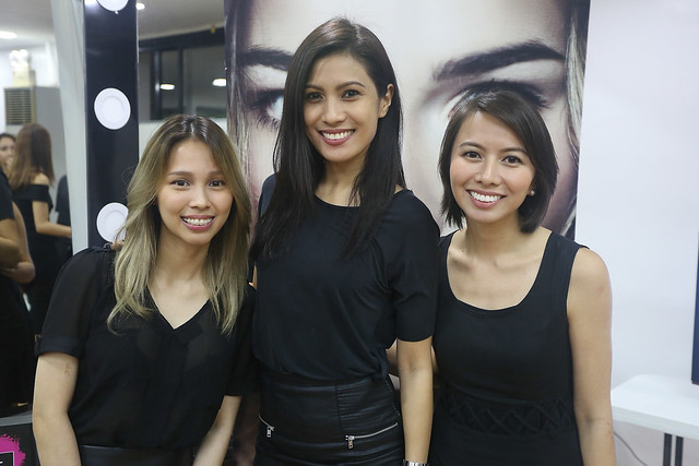bys x glamourbox makeup workshop angel feliciano lia andrea ramos gretchen gatan