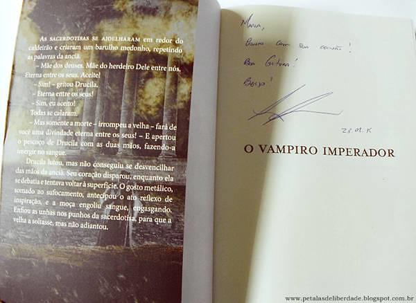 Resenha, livro, O vampiro imperador, Leonardo Barros, Novo Século, vampiro, lobisomem, roma, sodoma