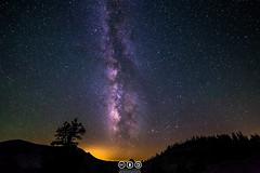 Tenaya Canyon Milky Way