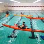 PHO-UMC14-134 Kayak Rolling Clinic in the new Halas Pool