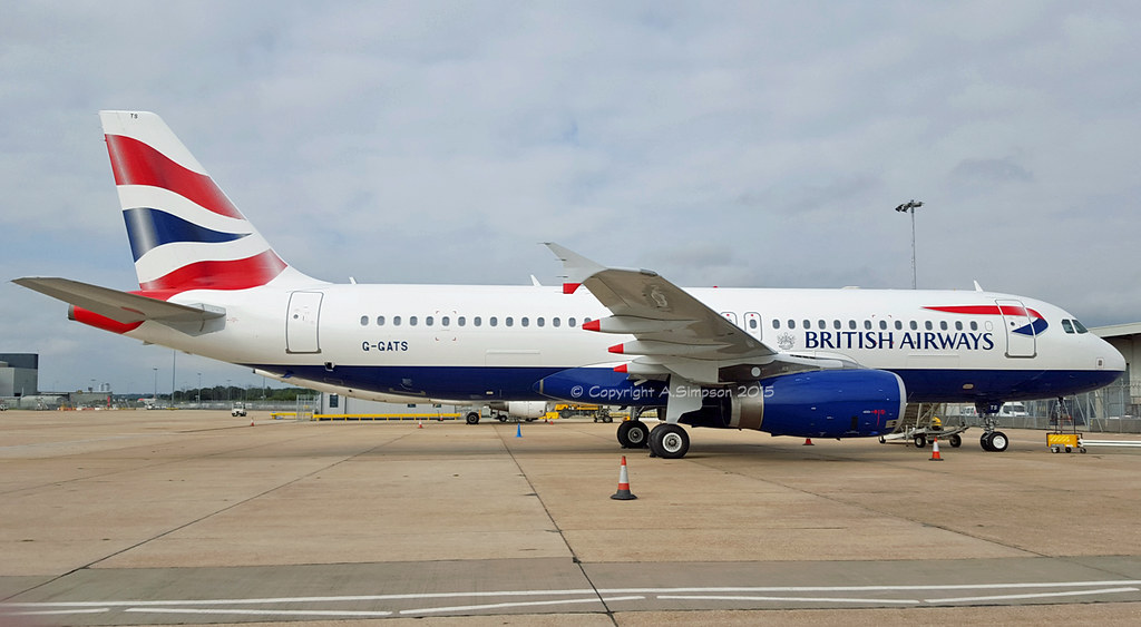 G-GATS - A320 - British Airways