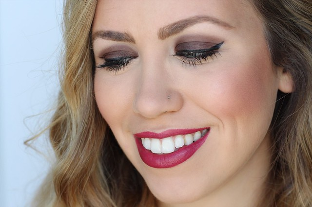 Fall Brick Red Lipstick Tutorial | Makeup