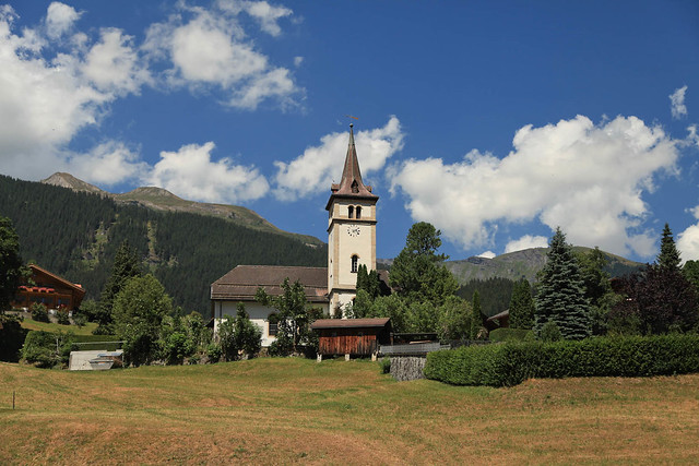Church in Grindelwald, Switzerland