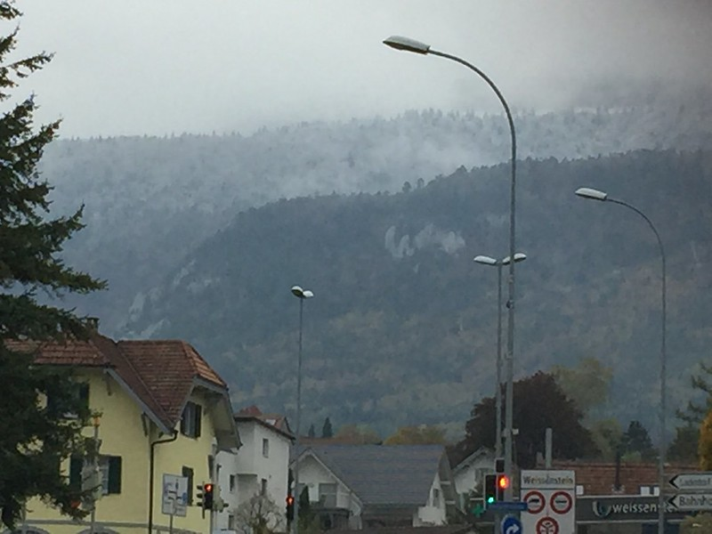 First snow 2015 Langendorf