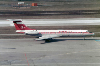 Interflug Tupolev Tu-134A DDR-SCV