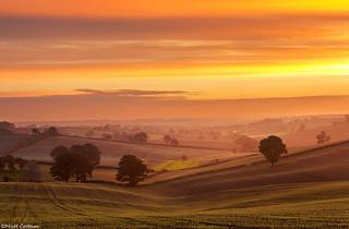 Dawn at Dawket Head