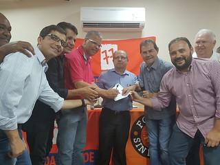 Sindicalista Carlão da Alimentação filia-se ao Solidariedade